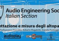 Evento AES Italia  – Progettazione e misura degli altoparlanti