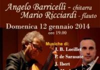 Concerto per flauto e chitarra del duo Barricelli-Ricciardi