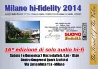 Milano Hi-Fidelity 2014