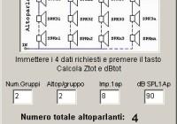 Calcolo serie/parallelo