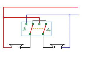 Schema di commutazione serie/parallelo