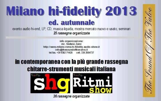 Milano Hi-Fidelity 2013