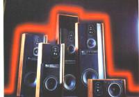 I primissimi modelli della Serie 7 ESB. Da sinistra: 7/07, 7/08 tre vie, 7/05, 7/06, 7/09. Entro il 1984 furono introdotti anche i modelli 7/01 e 7/03.