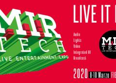 """MIR 2020: ancora più """"TECH"""" e spettacolare"""