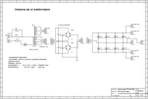 TFA-150 Power Supply - Versione un trasformatore