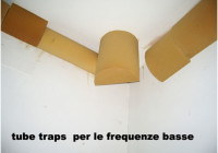 Tube traps per le frequenze basse